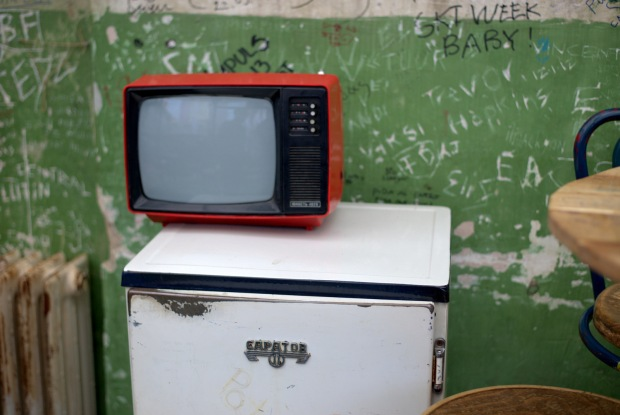 It's not all just nostalgic for Hungarians, I think even I remember televisions like this.
