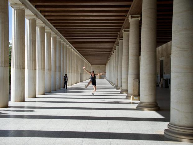 The Stoa Acropolis